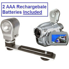 Digital 3-Watt Video Light for Sony Handycam DCR HVR HDR FDR Camcorders Series