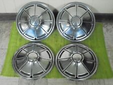 """72 73 74 75 76 Plymouth HUB CAPS 14"""" Set of 4 Hubcaps 1972 1973 1974 1975 1976"""