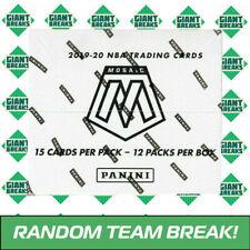 2019-20 PANINI MOSAIC BASKETBALL - FAT PACK CELLO BOX - RANDOM TEAM BREAK!! A106
