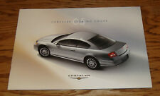 Original 2005 Chrysler Sebring Coupe Deluxe Sales Brochure 05