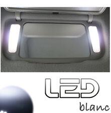 Nissan Qashqai 2 J11 4 Ampoules LED BLANC Miroirs courtoisie Pare soleil