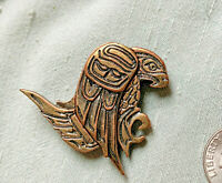 Jody Wilson Pewter Eagle Pin Brooch CANADIan WESTCOAST SALISH Native Indigenous