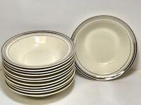 """Vintage Taylor Smith And Taylor Premier 5 1/4"""" Dessert Bowls Set Of 12"""