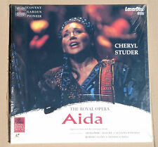 AIDA - Oper in 4 Akten - Verdi - Royal Opera - Cheryl Studer - PAL LaserDisc OVP