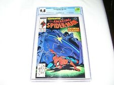 THE AMAZING SPIDER-MAN #305 CGC 9.8 MCFARLANE COVER PROWLER BLACK FOX 24HrShip!!