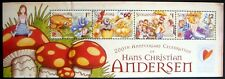 2005 MNH SINGAPORE HANS CHRISTIAN ANDERSEN STAMP SHEET FAIRY TALE LITTLE MERMAID