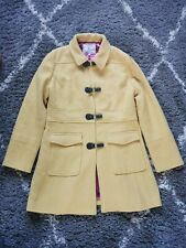 Ness Size 16 Mustard Yellow Tweed Wool Duffle Coat