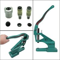 Universal Green Hand Rivet Press Machine T3 T5 T7 Dies Set for Crafting Projects