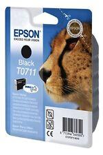 Epson Original Tintenpatrone T0711 Schwarz Black Gepard Serie