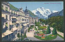 Interlaken Höheweg mit Jungfrau