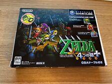 Zelda Four Swords Collectors Edition Japanese Version Nintendo Gamecube