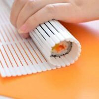 1pc Non-Stick Sushi Maker Kit Rice Roll Plastic Mold DIY Mould Roller Mat Paddle