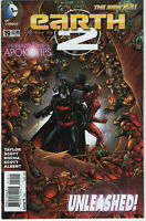 Earth 2 #19 2014 1st Appearance of Val-Zod Black Superman New 52 DC Comics