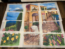 Tatouage Transfer Designs Wall Mural Paris Italy Cafe Scenery New