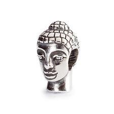 AUTHENTIC TROLLBEADS HEAD OF BUDDHA 11186 TESTA DI BUDDHA