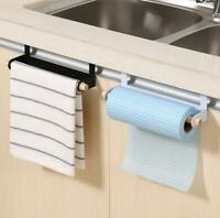 Roll Paper Kitchen Holder Towel Storage Rack Cabinet Shelf Bathroom Hanging