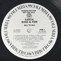 Earth Wind & Fire I Am LP Vinyl Record Original 1979 Rare Promo Soul Funk
