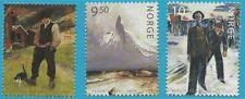 Norwegen aus 2004 ** postfrisch MiNr. 1493-1495 - Gemälde!
