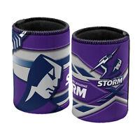 NRL Stubby Can Cooler - Melbourne Storm - Drink - Rubber Base - Neoprene