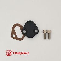 Billet SB Ford Fuel Pump Block-Off Plate Kit