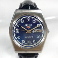 Vintage Seiko Automatic Movement Day Date Dial Mens Analog Wrist Watch A217