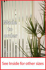 Vertical blind 2100MM W x 2100mm D 127mm slat various colours