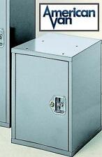 "Lockable Upright 22""H Cabinet for Van or Truck Storage from American Van"