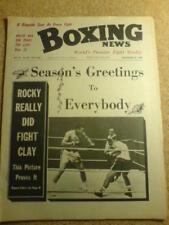 BOXING NEWS - 26 Dec 1969