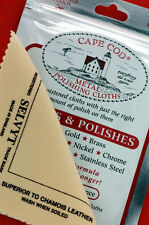 1 pack of Cape Cod Polish Company Cloths 1 Selvyt Cloth for High Polish Watches