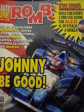 Auto & Sport ROMBO 29 1995 Gp Inghilterra Herbert vince su Ferrari di ALESI