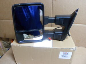 New Left Drivers Side Power Heated Side Mirror fits 2008-2015 Ford Super Duty