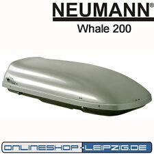 Dachbox/ Skibox Neumann Whale 200 silber metallic / NPB0602C