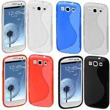 Custodia WAVE S Line Cover TPU Gel per Samsung I9300 Galaxy S3 I9300I Neo I9305