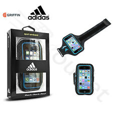 Griffin Adidas Ultra léger Course Brassard De Sports iPhone 5/5s/SE - Noir/Bleu