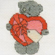 DMC Me To You Tatty Teddy Mini Cross Stitch Kit   With Love