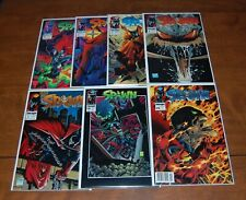 Spawn Image Comics Lot (7) #1 2 3 4 5 18 19 Todd McFarlane (see description)
