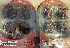 Crimson Skies  2 PACK Lot   The Red Skull Legion & The Fortune Hunters - WizKids
