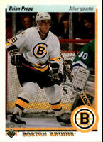 1990-91 Upper Deck French Hockey Cards 1-250 Pick From List