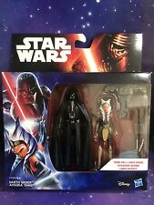 Darth Vader Star Wars Rebeldes & Ahsoka Tano figuras (disney/hasbro)