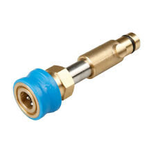 """Brass Snow Foam Lance Adapter Quick Connector 1/4"""" for Nilfisk Gerni Washer"""