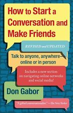 *New* HOW TO START A CONVERSATION AND MAKE FRIENDS by Don Gabor