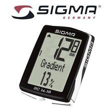 SIGMA BC 14.16 14 FUNCTION BICYCLE BIKE COMPUTER Sensor Speedometer  BC1416