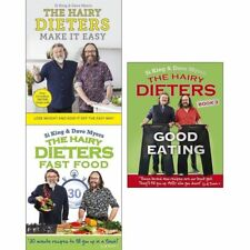 Hairy Bikers Dieters Collection 3 Books Set  Make It Easy Fast Food Good Eating