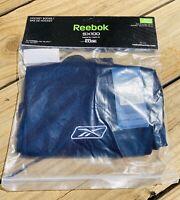 "REEBOK SX 100 Hockey Socks Size Youth 24"" Navy Blue Polyester New In Pack NIP"