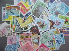 50 DIFFERENT GHANA STAMP COLLECTION - LOT
