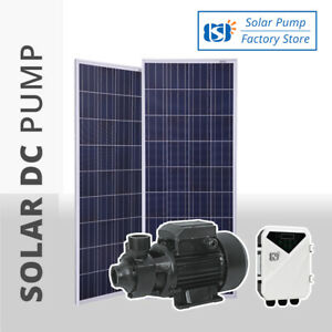 Solar DC Centrifugal Vortex Water Transfer Pressure Pump 210W 550W 1HP Surface