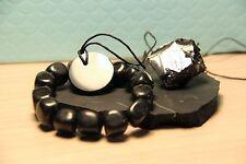 Shungite pulsera bracelet piedra protección EMF Chakra Elite stone Noble