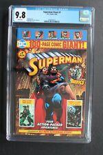 SUPERMAN GIANT #7 Walmart Green Lantern Batman 2018 DEATH LOIS LANE CGC NMMT 9.8