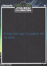 Dan Perri Official Pix Star Wars Autograph Trading Card Celebration Anaheim Exc