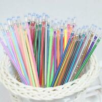 48 Color/Set Gel Pen Refills Glitter Coloring Drawing Craft Markers Stationery